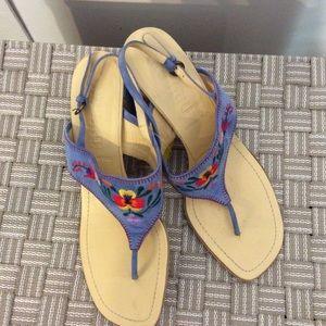 Miu Miu Blue Sandal Size 39 1/2